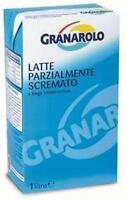 LATTE GRANAROLO PARZIALMENTE SCREMATO  1 LITRO IMBALLO DA 12 LITRI