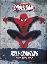 MARVEL ULTIMATE SPIDERMAN WALL - CRAWLING COLOURING BOOK - BUY 2 GET 1 FREE