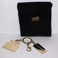 Dolce & Gabbana The One Gold Keyring / Dog Tag in Pouch