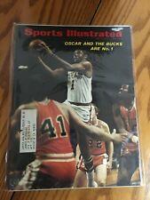 FM3-54 Sports Illustrated Magazine May 10 1971 Oscar Robertson BUCKS