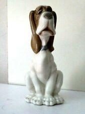 Figurine en porcelaine - Chien triste - Ancien Nao par Liadro - Espagne