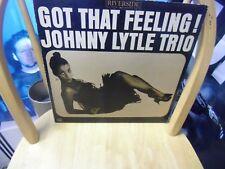 Johnny Lytle Trio Got That Feeling LP Riverside [blue label] Records VG