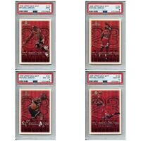 "FULL SET 30x Michael Jordan 1999-00 Upper Deck MVP ""MJX"" All PSA 8, 9, 10! Desc."