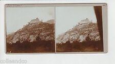 █ Vue Stéréoscopique / Stéréo : SUISSE Chateau de Sion + Escalade / Climbing  █