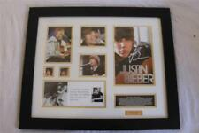 Justin Bieber Limited Edition Signature Framed Memorabilia Younger Years