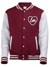 Button Cotton Coats & Jackets Baseball College for Men