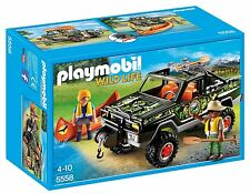 Playmobil 5558 wildife aventura Camioneta Pickup