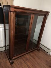 Antique Mahogany Bookcase Bookshelf With shelves