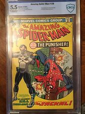 The Amazing Spider-Man #129 (Feb 1974) CBCS 5.5.  1st Appearance Of Punisher