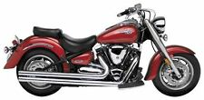 "Road Burner Street Pros 2.5"" Chrome Exhaust Drag Pipes Yamaha Warrior 04-07 New!"