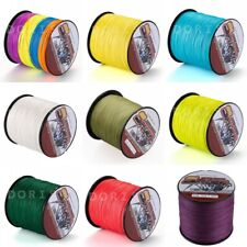 Spider 12 Colors Power Strong Dyneema Braided Fishing Line 300M/328yds 6LB-300LB