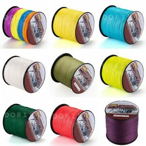 Spider 14 Colors Power Strong Dyneema Braided Fishing Line 300M/328yds 6LB-300LB