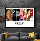 RIHANNA Album Cover Collection Paper Posters or Canvas Framed Wall Art