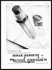 1930 ORIGINAL FRENCH ART DECO ADVERT / PRINT Marcel Guerlain Cosmetics Ad (2011)