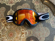 New listing New Oakley O2 XM Snow Goggles High Intensity Yellow Lens Matte Black Strap