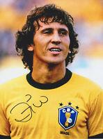 Zico - Brasilien - original signiertes FOTO - 15x20cm - Autogramm - World Cup