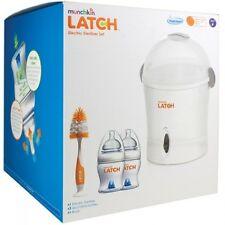 Munchkin Latch biberon Sterilizzatore a vapore elettrico Kit-UK plug-NUOVO