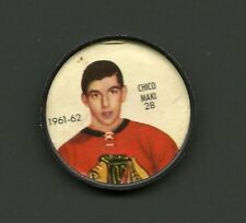 Chico Maki #28 Chicago Blackhawks Vintage 1961-62 Shirriff Salada Hockey Coin