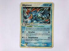 Carte Pokémon Aligatueur Holo 4/115 ex forces cachées