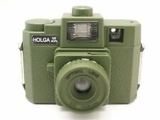 Holga 120GCFN Military Green Medium Format Film Camera Glass Lens /Colored Flash