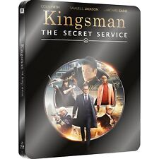 KINGSMAN - The Secret Service STEELBOOK EDITION (BLU-RAY) Colin Firth