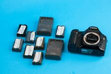 Canon EOS 5D 12.8MP Digital SLR Camera - Body with 7 battaries and 2 charger