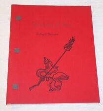 Scriptures of Venus, Robert Bensen, First Edition 2000, Swamp Press, Paperback