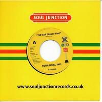 FOUR REAL INC The Man / LARRY WRIGHT It's Okay With Me  FUNK NORTHERN SOUL 45