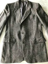 VINTAGE Christian Dior Homme Tweed Blazer 2 Button Tailored Jacket