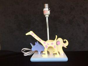 Carter's John Lennon Musical Parade Real Love Nursery Lamp - No Lamp Shade 1990