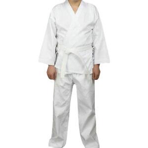 Martial arts men and women aikido judo student karate twill suit uniform belt