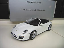 Porsche 911 Carrera S 997 Convertible Dealer Edition NOREV 1:18 SHIPPING FREE