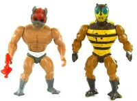 MOTU Vintage Zodak & Buzz Off Lot of 2 Masters of the Universe He-Man