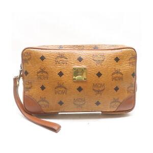 MCM Clutch Bag  Browns PVC 1527193