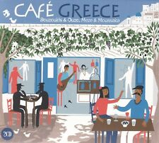 Cafe Greece [2014] by Various Artists (CD, Sep-2014, 2 Discs, Metro Select)