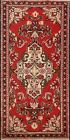 Vintage Floral Hamedan Hand-knotted Wool Area Rug Classic Oriental Carpet 2'x4'