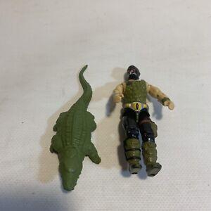 GI Joe 1987 Croc Master Vintage action figure ARAH W Crocodile