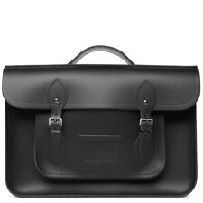 Cambridge Satchel Company Black Leather Batchel Crossbody Shoulder Bag