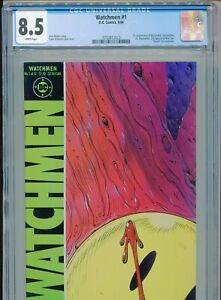 1986 DC WATCHMEN #1 DAVE GIBBONS 1ST APPEARANCE RORSCHACH CGC 8.5 BOX2