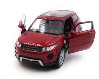 Modellino Auto Range Rover Evoque SUV Rosso Auto 1:3 4-39 (Licenza)