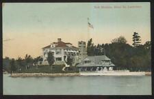 Postcard ST LAWRENCE RIVER Ontario/CANADA  Neh Maubin House & Boat Landing 1905?