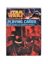 Star Wars The Story of Darth Vader Playing Cards Disney Deck of Cards NEW Sealed
