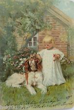"""""""Kinder, Hund, Haus, Garten"""" 1900 ♥  (9289)"""