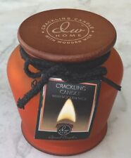 DW HOME NEW CRACKLING CANDLE SPICED PUMPKIN WOOD WICK GLASS JAR WOOD TOP 14.6 Oz