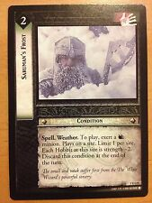Lord of the Rings CCG Fellowship 1U135 Saruman's Frost LOTR TCG