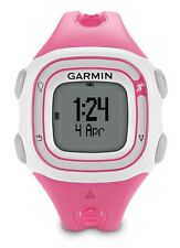 Reloj Deportivo Garmin Forerunner 10 Gps/para correr, Smal NUEVO (Rosa/Blanco) 010-01039-05