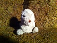 "vintage Gray plush seal Grey Stuffed Animal Adorable Cute 10"" Long Collectible"