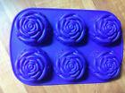 12er Set Silikon Muffinform Muffinförmchen Muffin Kuchen Cup 6 Farben Back C6E1