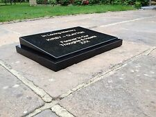 Personalised Granite Memorial Grave Plaque Headstone  stone