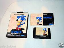 SONIC PAL Complete in box Sega Mega drive CiB megadrive videogame